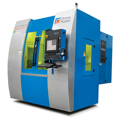 Six axis LASERDYNE 430BD system is designed for cutting, welding and drilling 2D and 3D components with up to 20 kW QCW fiber laser.