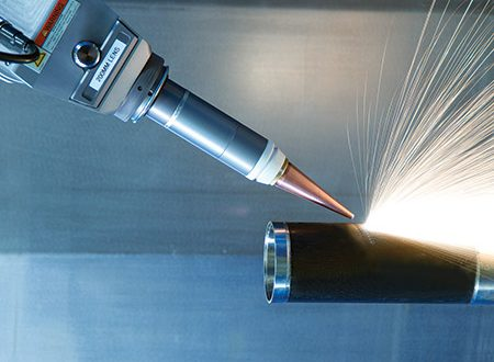 aerospace components with a fiber laser