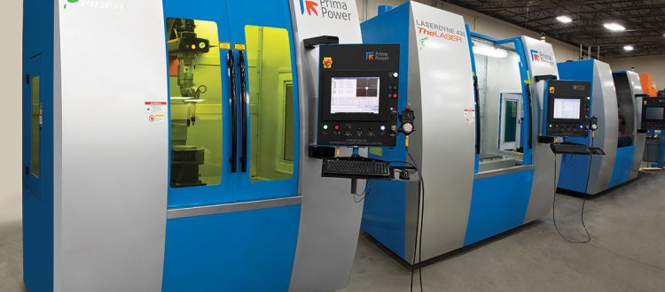 Six axis LASERDYNE 430BD Series laser system
