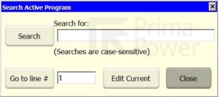 Search Dialogue