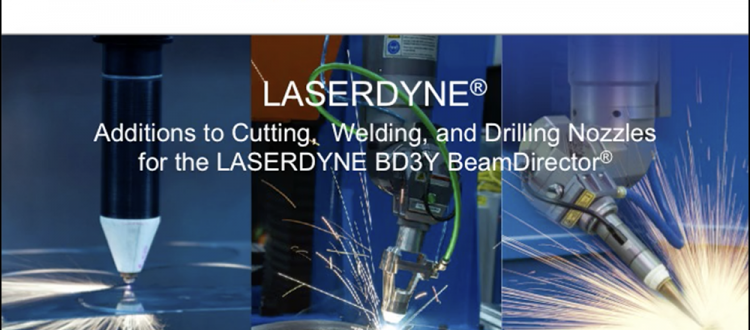 Additions to Nozzles for LASERDYNE BD3Y BeamDirector