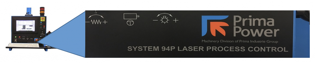 System 94P identified on control panel