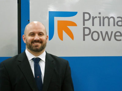 Dominic Rickard joins Prima Power Laserdyne Sales Team