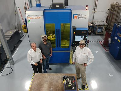 Prima Power Laserdyne Systems and FASTTRIM™ software